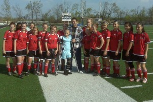 Janessa, Honorary Captain, Mt Home Bombers