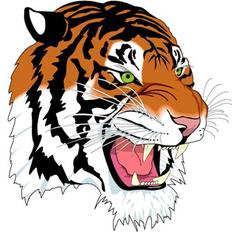 Carthage Tiger logo