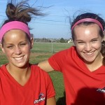 Ashley McWilliams and Lindsey Sprouse, Glendale Falcons (2010)