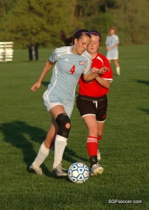 Bailey Millington (Glendale 2010) challenged by Katie Shannon (West Plains 2010)