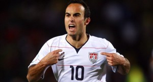 Landon Donovan in US MNT jersey