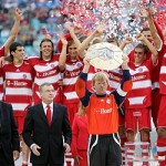 Bayern Munich Celebrate League Title, 2010