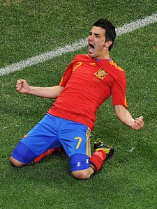 David Villa by Carl De Souza/AFP/Getty Images