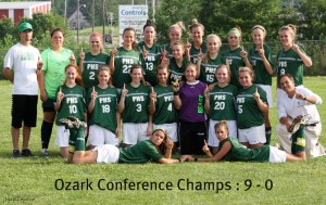 Parkview Lady Vikings, 2010 Ozark Conference Champions