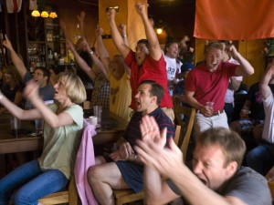 World Cup Watch Party at Farmers Gastropub by James Radke