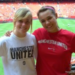 Bailey Pesek and Taylor Stamper at Arrowhead Stadium