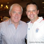 Walter Smith, Glasgow Rangers with Dr Ben Goss, MSU