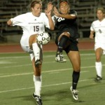 Grace Cross, MSU (2013) battles Jacqueline Paz, UALR (2012)