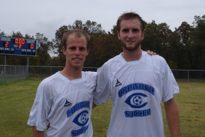 Bryce Collier (Hillcrest) and Trevor Pedigo (Kickapoo), Crowder Roughriders (2011)