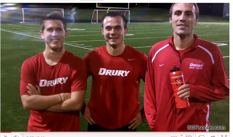 Drury Panther seniors - Peterson, Collins, Palmer