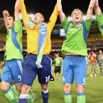 Sounders Celebrate 2009 Open Cup Win