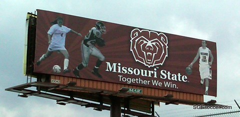 MSU billboard including Sarah Linsin
