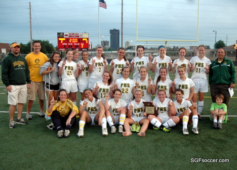 Parkview Vikings, Class 3 District 12 Champions 2011