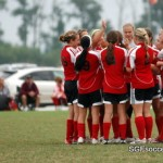 Springfield SC U15 Girls prior to 1st match
