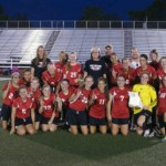 Central Lady Bulldogs 2012 District Champions