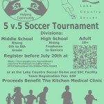 Register For The Kitchens 5v5 Soccer Tournament