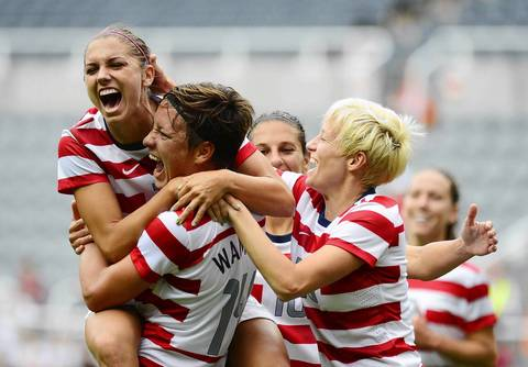 Olympics: Soccer-Women's Quarterfinal - USA vs NZL