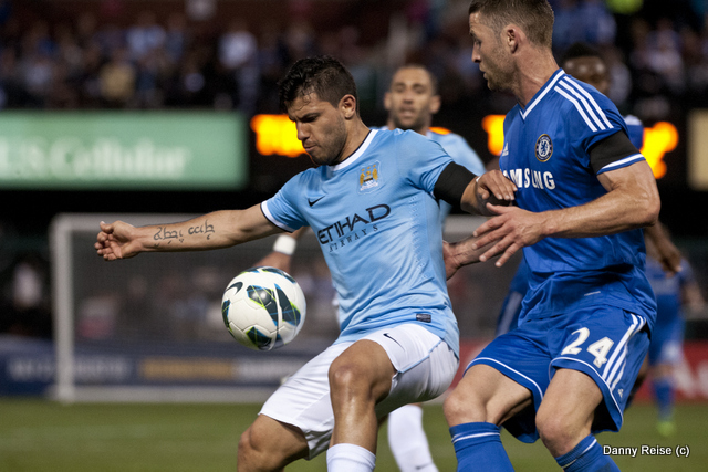 Soccer 2013: Chelsea vs Manchester City MAY 23